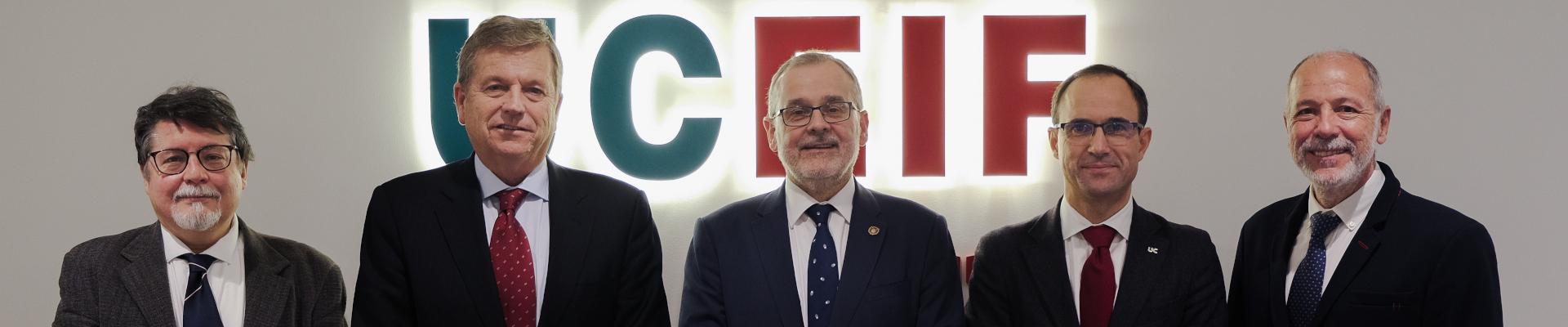 La Fundación UCEIF inaugura su nueva sede operativa en el Campus de la UC